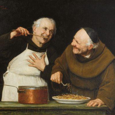 The Tasting (oil on canvas)